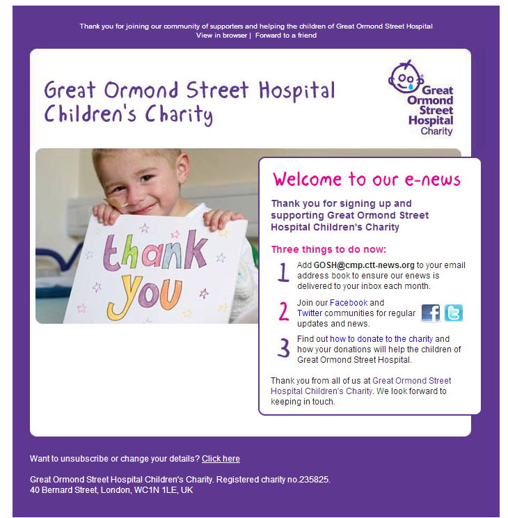 Great Ormond Street Hospital - Children's Charity
