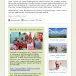 CAFOD - Pope's encyclical