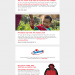 Charity Email - American Red Cross
