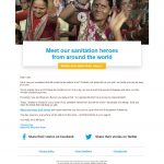 Charity Email - WaterAid