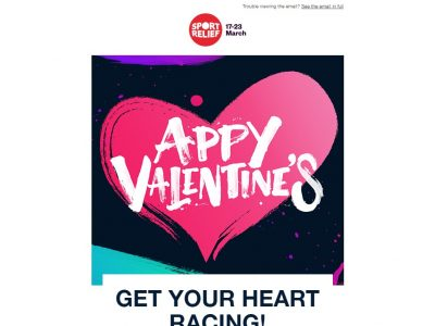 Charity Email - Sport Relief