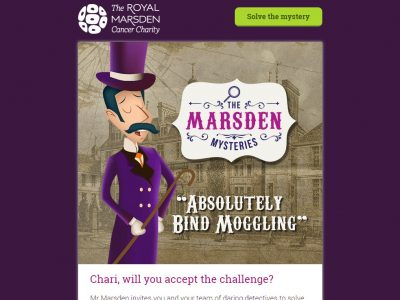 Charity Email - The Royal Marsden