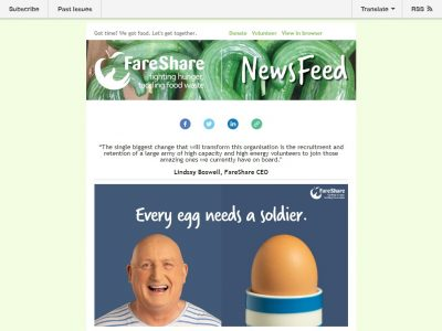 Charity Email - FareShare