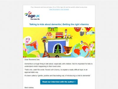 Charity Email - Age UK